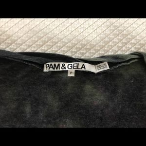 Pam & Gela Tops - Pam & Gela Pink Camo Sophie Tee